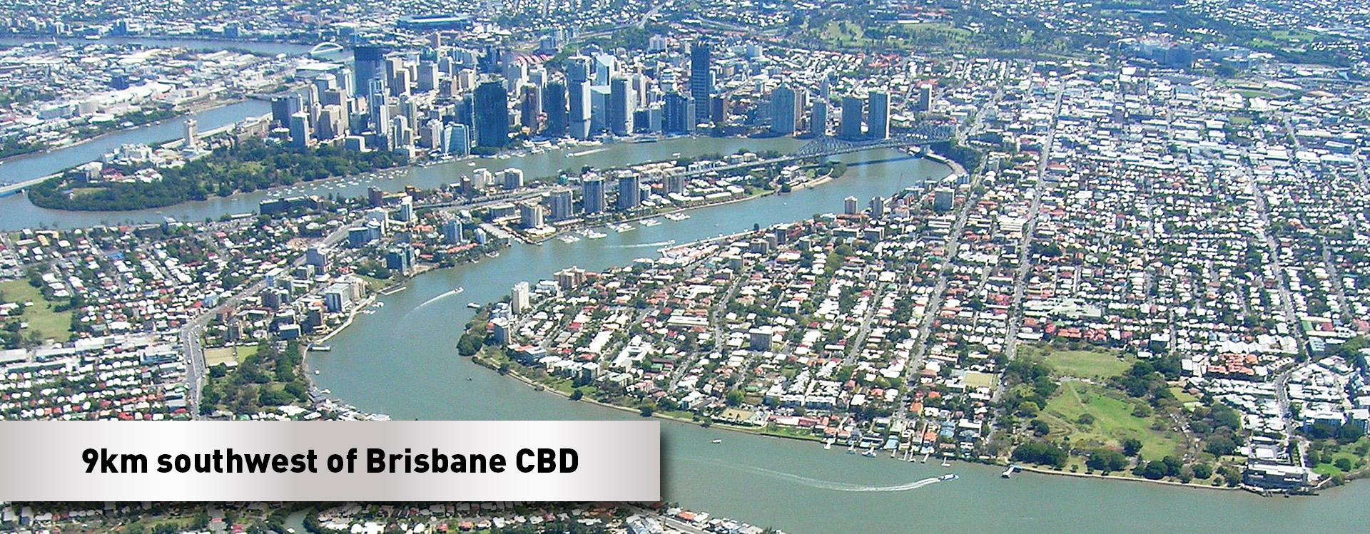 Brisbane-Satellite-map150415